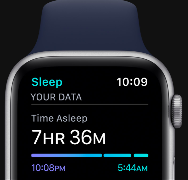 Apple Watch 6 slaapmeter